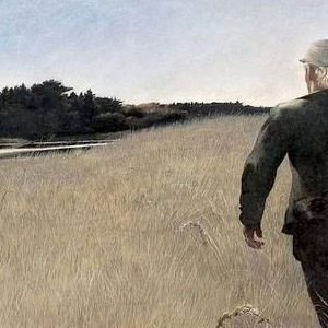 Эндрю Ньюэлл Уайет (Andrew Newell Wyeth) - Индюший пруд