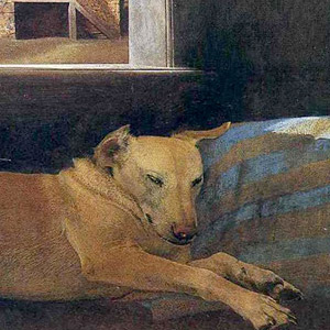 Эндрю Ньюэлл Уайет (Andrew Newell Wyeth) - Night Sleeper 1979